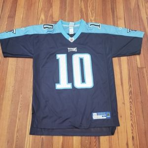 Tennessee Titans Vince Young  Reebok Jersey Mens S